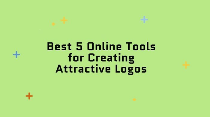 5 best online tools to create a logo