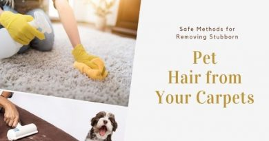 remove pet hairs