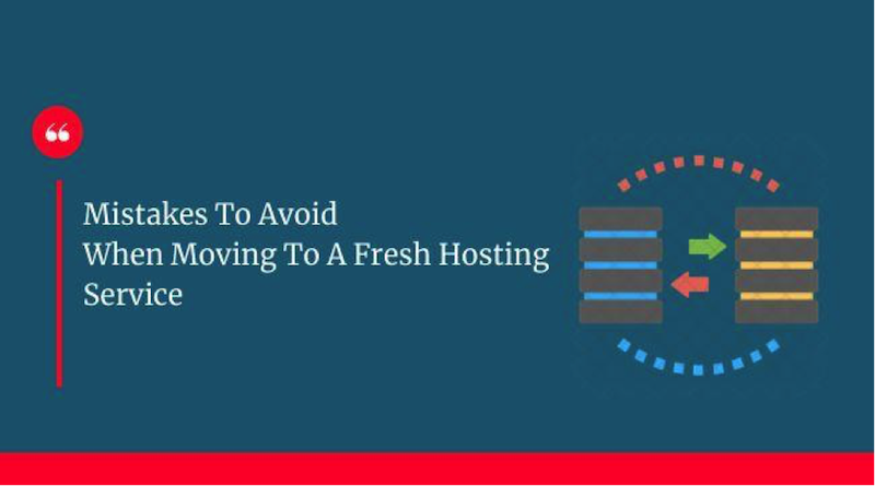 mistakes to avoid when choosing a web host