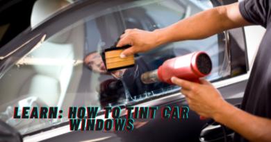 How to tint car windows