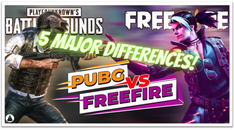 PUBG Mobile Vs. Freefire