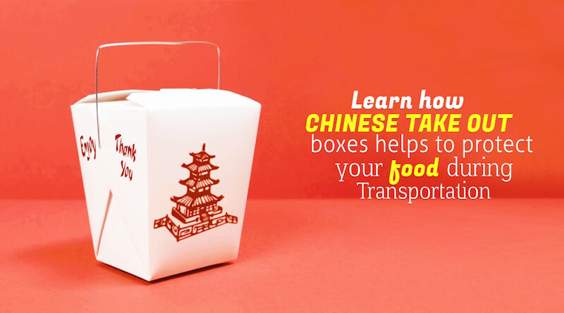 Chinese Take Out Boxes