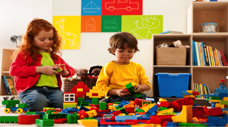 Benefits Construction Toys have on Children
