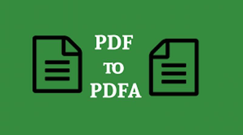 PDF to PDFA