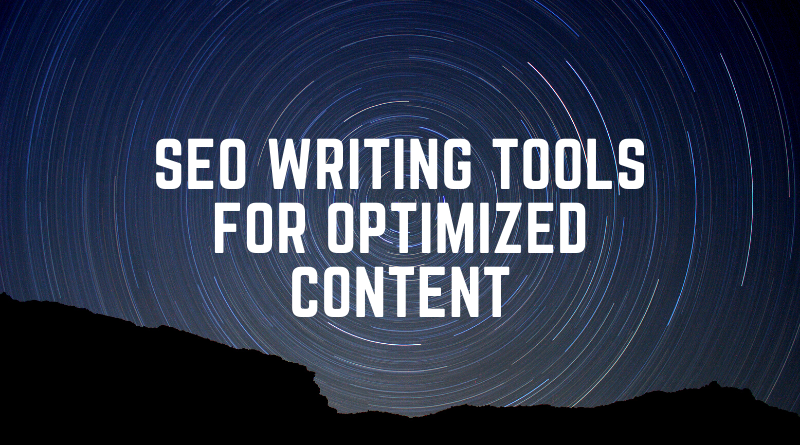 SEO Writing Tools for Optimized Content