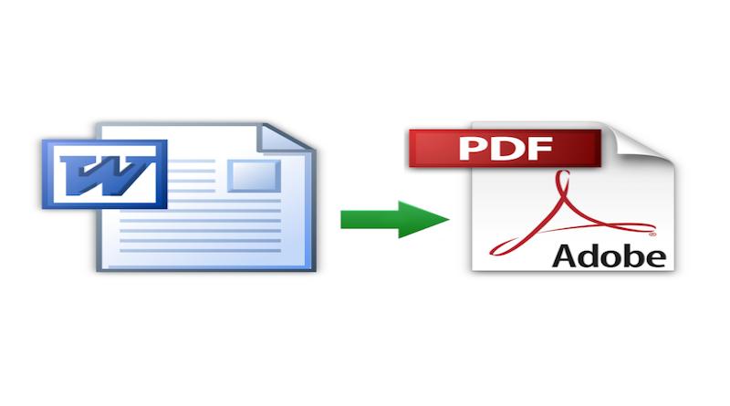word to pdf