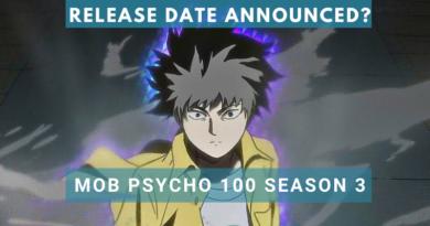 Mob Psycho 100 Season 3 release date