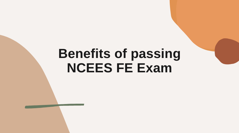 NCEES FE Exam