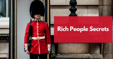 secrets rich people knows