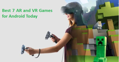 ar and vr games